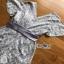 Lady Ribbon Poppy slate Satin White Lace playsuit thumbnail 7