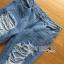 Lady Ribbon Online ขายส่งเสื้อผ้าออนไลน์เลดี้ริบบอน LR07010816 &#x1F380 Lady Ribbon's Made &#x1F380 Lady Elina Washed Ripped Skinny Jeans กางเกงยีนส์ thumbnail 3