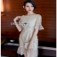 Lady Ribbon Tulle Dress ขายเดรสผ้าทูลเล thumbnail 3