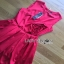 Lady Ribbon Rose Embroidered Dress เดรสคัทเอาท์เอวตกแต่งดอกกุหลาบสีแดง thumbnail 5