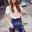 Lady Lizzy Casual Holiday Flower Denim Skirt Set thumbnail 3