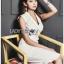 Chic Lady Ribbon Clean White Suit Dress thumbnail 2