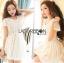Lady Ribbon Online ขายส่ง เสื้อผ้าออนไลน์ ของแท้ ราคาถูกพร้อมส่ง เลดี้ริบบอน LR14140716 &#x1F380 Lady Ribbon's Made &#x1F380 Lady Cassnadra Pure Elegant Lace and Chiffon White Mini Dress thumbnail 2