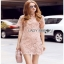 Lady Ribbon Pink Lace Mini Dress มินิเดรสสีชมพู thumbnail 2