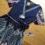 LR11290816 &#x1F380 Lady Ribbon's Made &#x1F380 Lady Sasha Classy Smart Printed Midi Dress with Ribbon Belt thumbnail 5