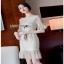 Lady Ribbon Tulle Dress ขายเดรสผ้าทูลเล thumbnail 1
