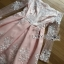 Lady Pink and White Lace Dress thumbnail 7