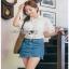 Lady Ribbon Lace and Chiffon Shirt ขายส่งเชิ้ตผ้าชีฟอง thumbnail 2