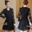 เสื้อผ้าสวยๆมีซับใน สินค้าแฟชั่นลูกไม้ชุดดำ thumbnail 1