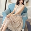 Lady Blaire Classic Elegant Lace Dress thumbnail 5