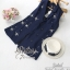Navy Beauty Stylish Eelgant Dress thumbnail 7