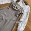 Mini Dress มินิเดรสผ้าลายสก็อตและผ้าชีฟองสีขาว thumbnail 9