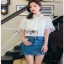 Lady Ribbon Lace and Chiffon Shirt ขายส่งเชิ้ตผ้าชีฟอง thumbnail 3