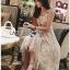 Lady Lauren Cotton with Lace Dress thumbnail 4