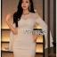 Lady Claire Sexy & Classy White Body-Con Dress thumbnail 3