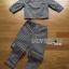 Lady Ribbon Online ขายส่ง เสื้อผ้าออนไลน์ ของแท้ ราคาถูกพร้อมส่ง เลดี้ริบบอน LR02140716 &#x1F380 Lady Ribbon's Made &#x1F380 Lady Clara Polka Dot Zip-Up Jacket and Pants Set สำเนา thumbnail 4