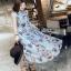 Lady Ribbon Maxi Dress ขายเดรสยาว thumbnail 4