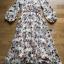 Lady Anne Autumn Flower Printed Chiffon Dress thumbnail 5