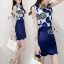 Sevy Two Pieces Of Glam Sleeveless Shirt With Skirt Sets thumbnail 1