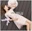 Lady Ribbon Mini Dress มินิเดรสผ้าทูลเลสีชมพู thumbnail 2