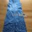 Lady Ribbon Online ขายส่งเสื้อผ้าออนไลน์ ขายส่งของแท้พร้อมส่ง Lady Ribbon LR05250716 &#x1F380 Lady Ribbon's Made &#x1F380 Lady Shannon Embroidered and Laser-Cut Denim Shirt Dress thumbnail 5