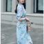 Twisted Shirt Dress Lady Ribbon ขายเชิ้ตเดรส thumbnail 4