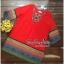 Lady Ribbon Online เสื้อผ้าออนไลน์ ขายส่ง VP01110717 Bohemian Red-Chiffon Colorful beads Embroidery Blouse thumbnail 5
