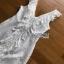 Elegant Middle Lady Ribbon Cotton Dress thumbnail 5