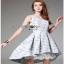 Lady Ribbon Vanessa Pretty Sweet Reindeer Pleated Dress thumbnail 4