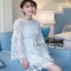 Guipure Lace Dress Lady Ribbon เดรสผ้าลูกไม้ thumbnail 2