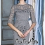 ชุดเดรสผ้าลูกไม้สไตล์เกาหลีพันธ์สวย thumbnail 3