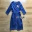 Denim Mini Dress Lady Ribbon มินิเดรสผ้าเดนิม thumbnail 7