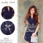 Navy Beauty Stylish Eelgant Dress thumbnail 1