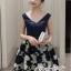 เดรสลุคสาว Fashionista เป็นเดรสทรงแขนกุดคอวี thumbnail 2