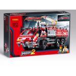 เลโก้จีน Decool 3371 ชุด Airport Rescue Vehicle