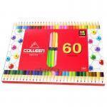 สีไม้ COLLEEN 2 หัว 60 สี