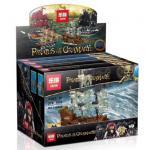 เลโก้จีน LEPIN 03058 ชุด เรือ Pirate of the Caribbean 4 ลำ