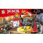 เลโก้จีน SY978 Ninja Go ชุด S.O.G. Headquarters