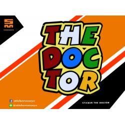 สติ๊กเกอร์ Rossi 46 Sticker Rossi 46 The Doctor 1 ชิ้น ขนาด 7 x 6 ซม.