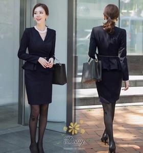 แฟชั่นชุดเดรสผ้าเกาหลี cotton