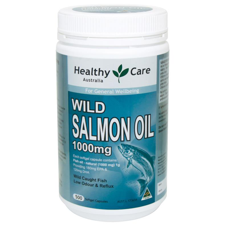 Healthy Care Wild Salmon Oil 1000mg