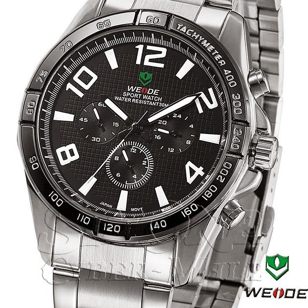 WEIDE – WH-2303-1: Quartz Analog Sports Watch