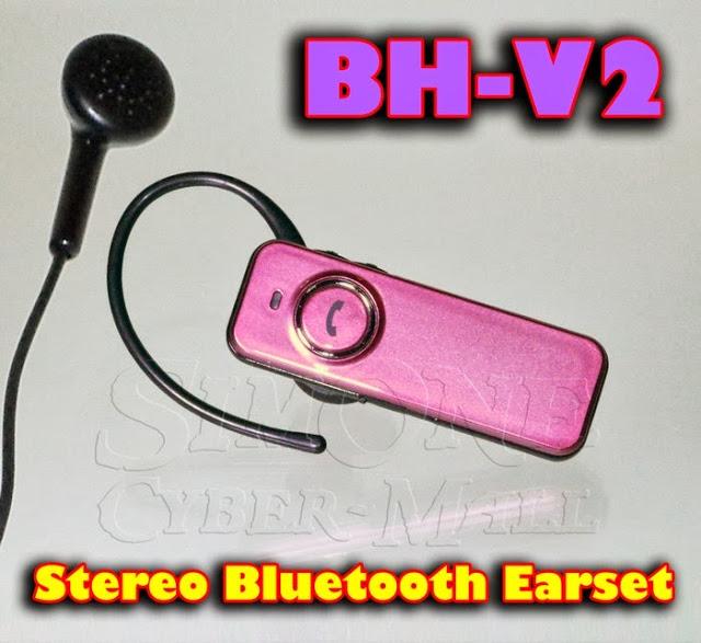 BH-V2 Stereo Bluetooth Earset