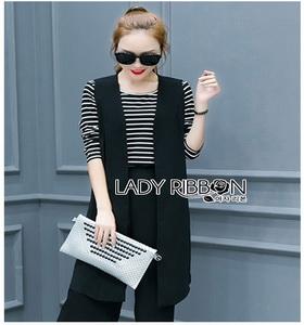 Lady Ribbon Lady Melissa Minimal Chic Black & White