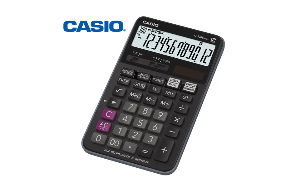 CASIO JJ-120D Plus