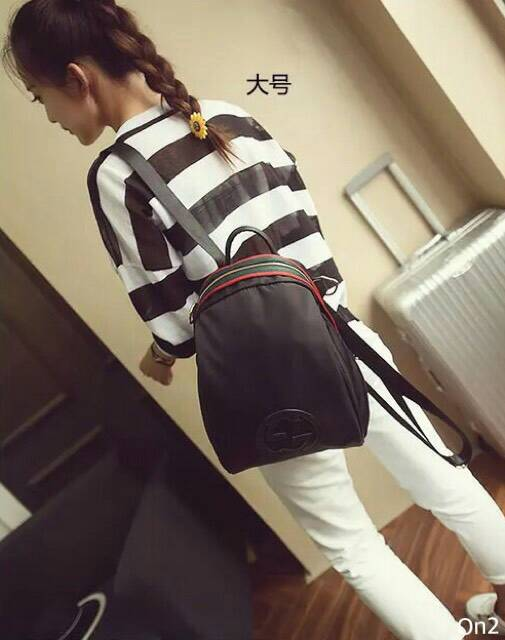 Gucci nylon blackpack