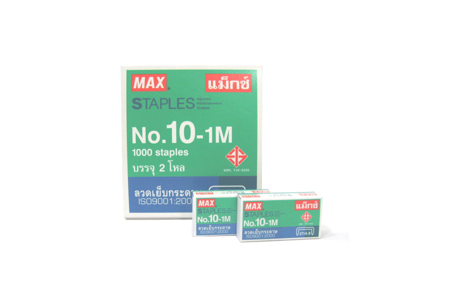 MAX staples no.10-1M