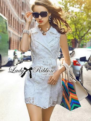 Lady Natasha Sophisticated Trench Shirt Dress