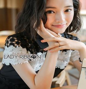 Lady Ribbon ขายส่งจัมป์สูทสีดำ