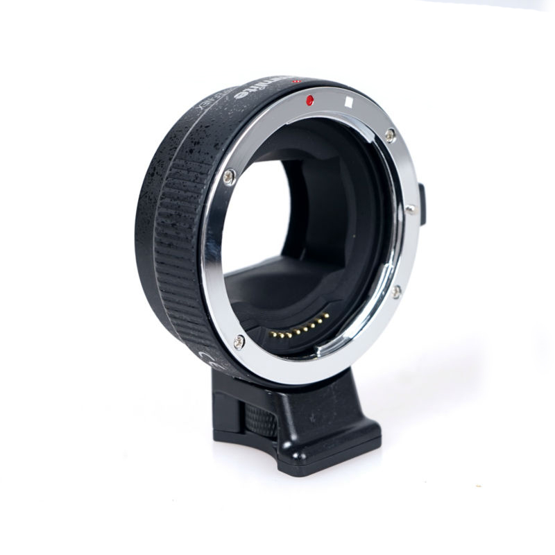 Commlite Electronic Auto Focus Adapter for Canon EOS EF-S Lens to Sony NEX E&FE mount